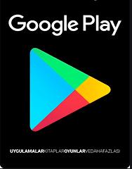 Google Play Bakiye satın al